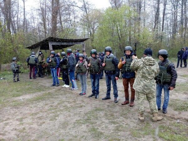 Військово-польові заняття школярів на Гайсинщині
